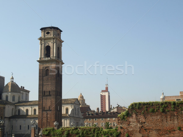 Ruins, Turin Stock photo © claudiodivizia