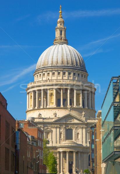 St Paul Cathedral, London Stock photo © claudiodivizia