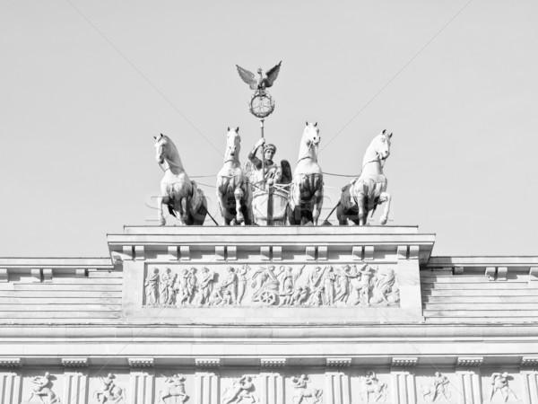 Brandenburger Tor, Berlin Stock photo © claudiodivizia