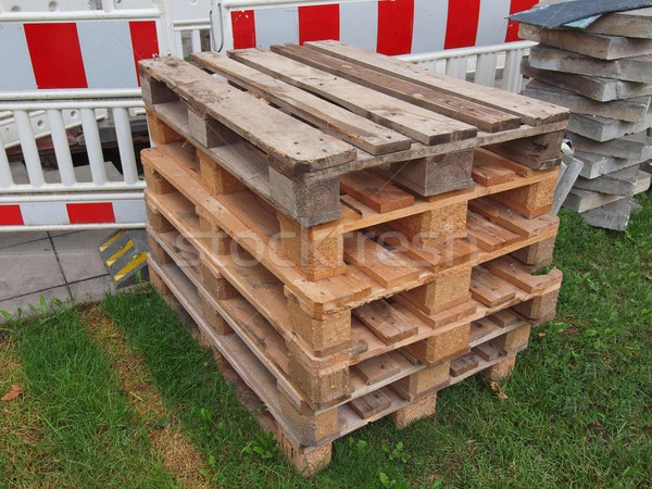Pallet skid Stock photo © claudiodivizia
