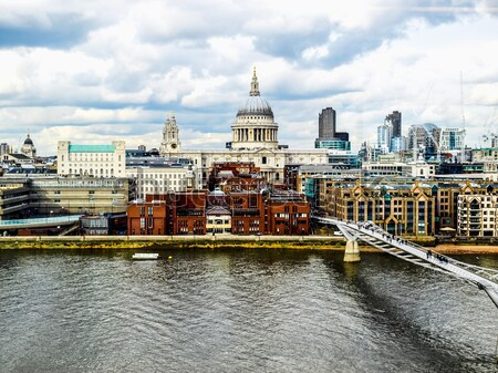 Foto stock: Catedral · Londres · Reino · Unido · alto · dinâmico · alcance