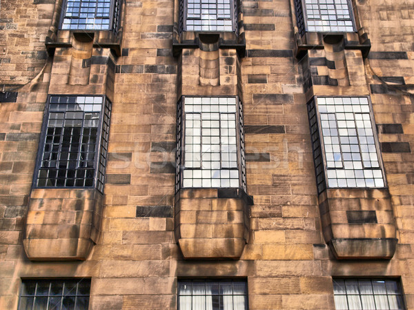 Глазго школы искусства hdr архитектора Шотландии Сток-фото © claudiodivizia