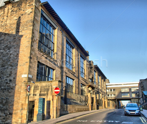 Glasgow iskola művészet hdr építész Skócia Stock fotó © claudiodivizia