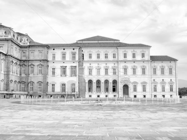 Barokk királyi palota Torino Olaszország magas Stock fotó © claudiodivizia