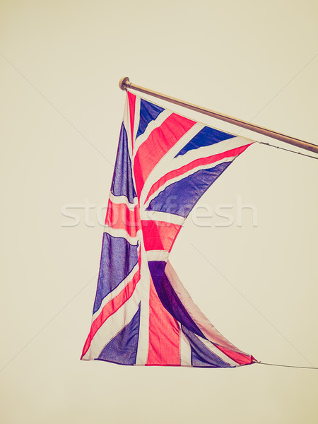 Retro look UK Flag Stock photo © claudiodivizia