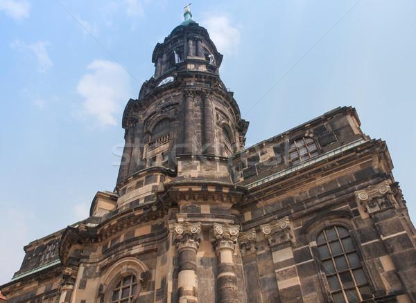 Kreuzkirche Dresden Stock photo © claudiodivizia