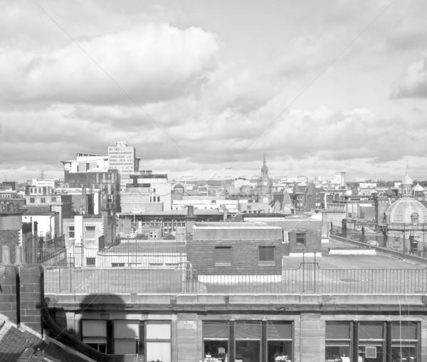 Glasgow città Scozia skyline view Foto d'archivio © claudiodivizia