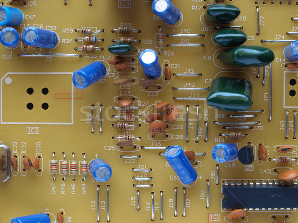 Printed circuit Stock photo © claudiodivizia