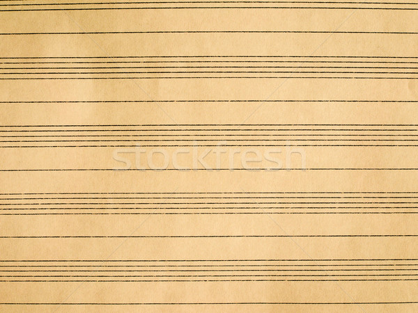 Sheet music Stock photo © claudiodivizia