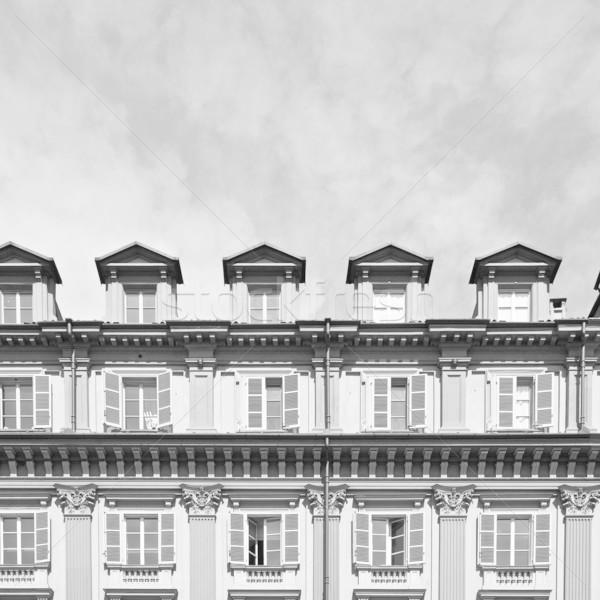 Piazza Statuto, Turin Stock photo © claudiodivizia