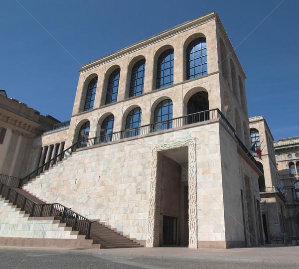Milaan Italië architectuur Europa stad mijlpaal Stockfoto © claudiodivizia