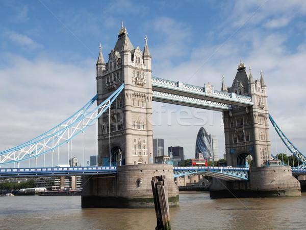 Tower Bridge, London Stock photo © claudiodivizia