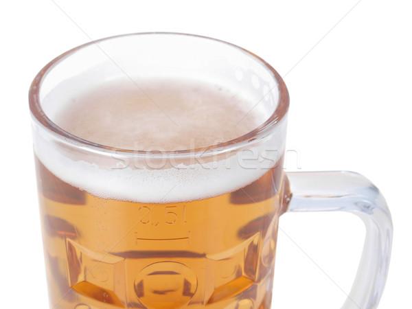 Bière verre mug une Photo stock © claudiodivizia