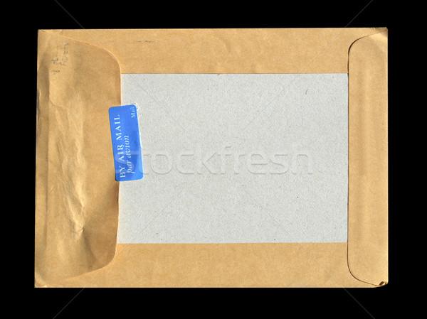 Luchtpost detail brief envelop post Stockfoto © claudiodivizia
