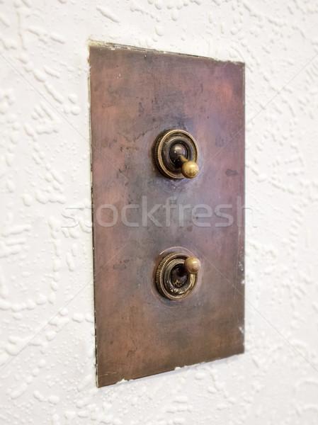 Light switch Stock photo © claudiodivizia