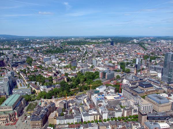 Frankfurt principal Alemania Foto stock © claudiodivizia