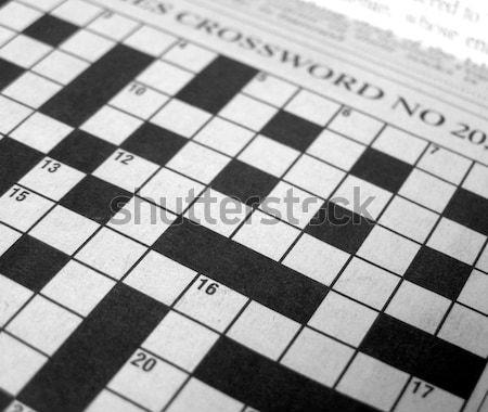Crosswords Stock photo © claudiodivizia
