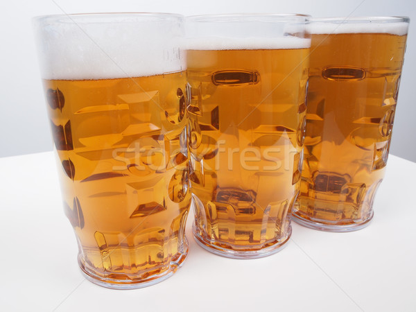 Lager beer Stock photo © claudiodivizia