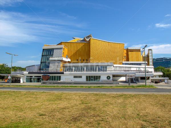 Modern építészet modern Stock fotó © claudiodivizia