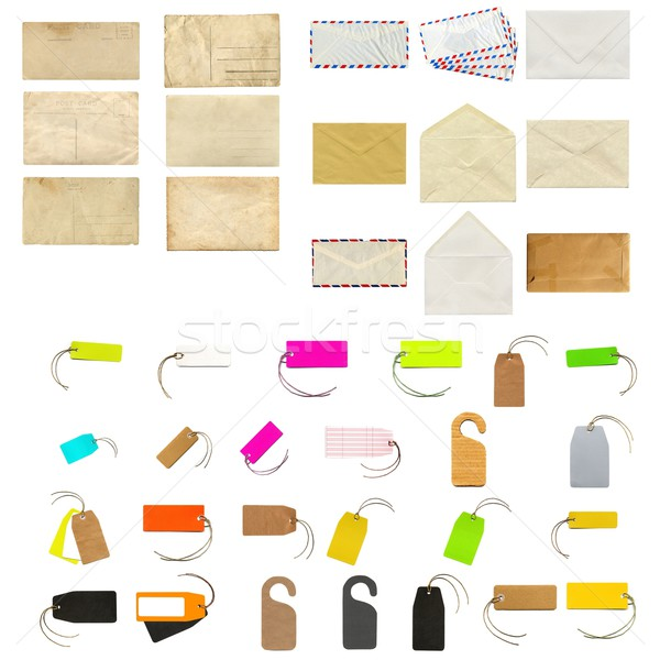 Stationery collage Stock photo © claudiodivizia