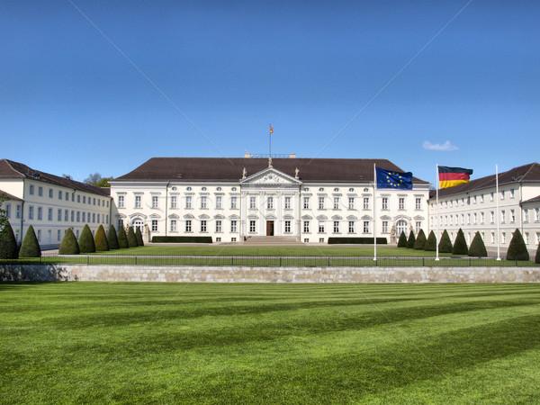 Berlin királyi palota Németország magas dinamikus Stock fotó © claudiodivizia