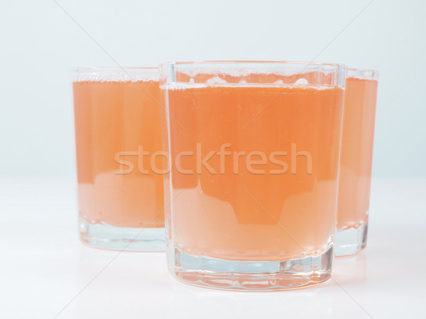 Succo d'arancia colazione continentale tavola frutta vetro bar Foto d'archivio © claudiodivizia