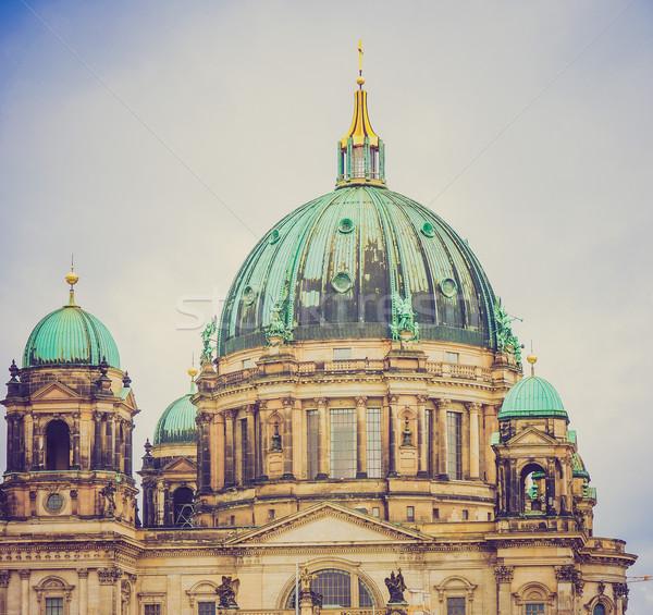 Retro look Berliner Dom Stock photo © claudiodivizia