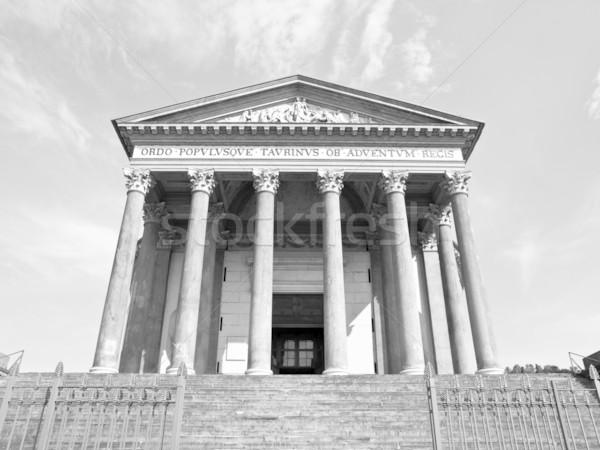 Gran Madre, Turin Stock photo © claudiodivizia