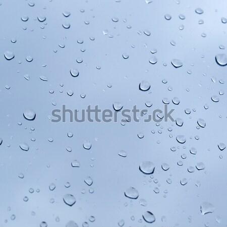 Chuva útil céu água Foto stock © claudiodivizia