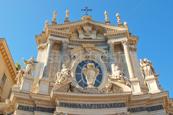 Santa Cristina and San Carlo church Stock photo © claudiodivizia