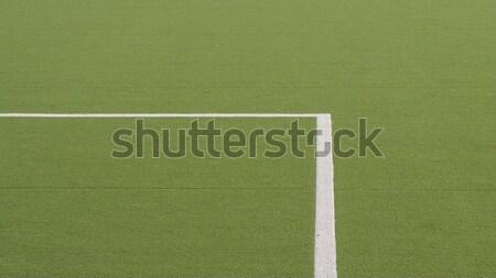 Parco giochi giudice campo terra giocare sport Foto d'archivio © claudiodivizia
