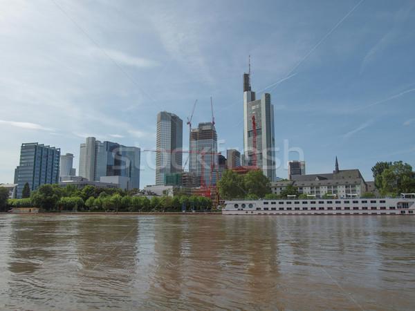 Francoforte sul Meno Germania view città principale Foto d'archivio © claudiodivizia