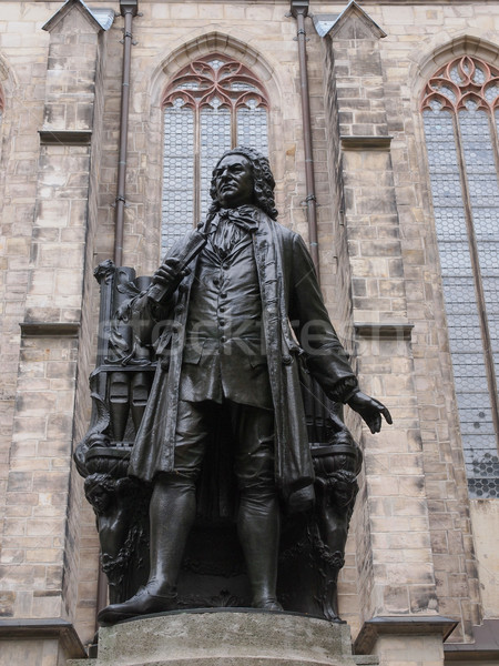 Neues Bach Denkmal Stock photo © claudiodivizia