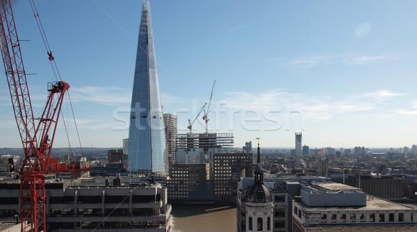 Londyn widoku miasta Anglii Europie panorama Zdjęcia stock © claudiodivizia