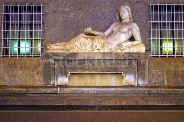 Dora Statue, Turin Stock photo © claudiodivizia