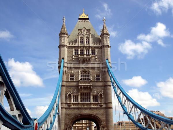 Tower Bridge Londra fiume thames Europa torre Foto d'archivio © claudiodivizia