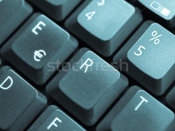 Computer keyboard Stock photo © claudiodivizia