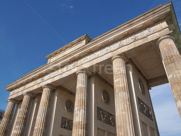 Brandenburger Tor Berlin Stock photo © claudiodivizia