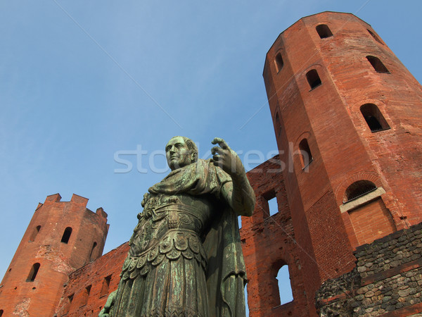 Julius Caesar statue Stock photo © claudiodivizia