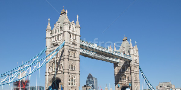 Tower Bridge Londres rio água europa Foto stock © claudiodivizia