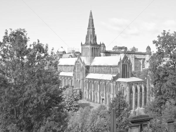 Glasgow cattedrale alto costruzione muro design Foto d'archivio © claudiodivizia