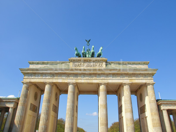 Brandenburger Tor, Berlin Stock photo © claudiodivizia