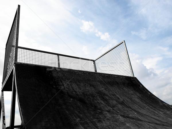 Skate ramp Stock photo © claudiodivizia