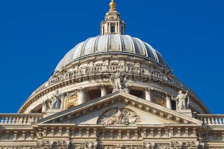 Stockfoto: Kathedraal · Londen · Verenigd · Koninkrijk · kerk · vintage · godsdienst