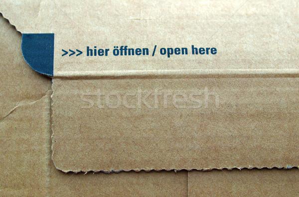 Packet parcel Stock photo © claudiodivizia
