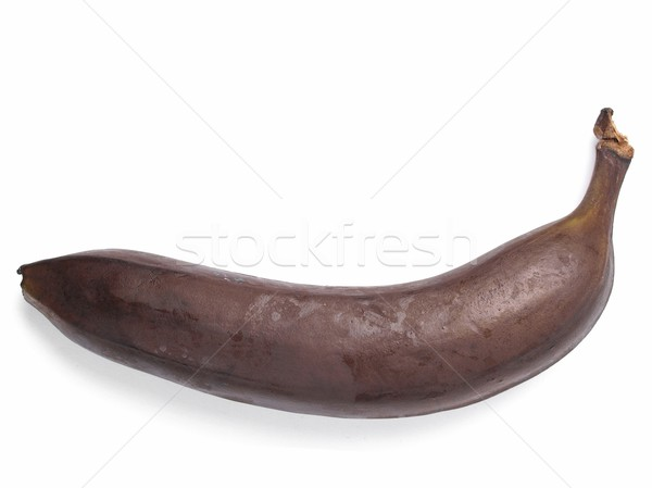 гнилой банан коричневый фрукты белый Сток-фото © claudiodivizia