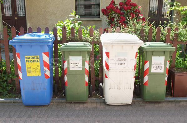 Waste sorting Stock photo © claudiodivizia