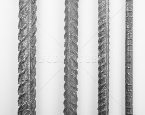 Rebar reinforcement bar Stock photo © claudiodivizia