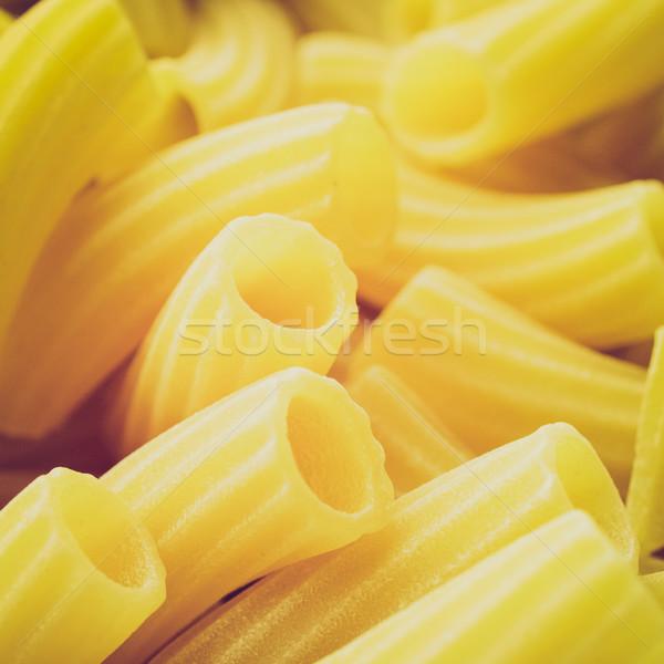 Retro look Pasta picture Stock photo © claudiodivizia