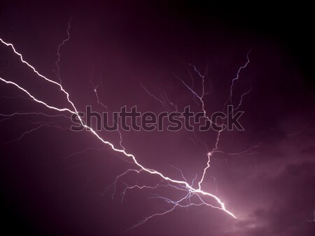 Lightning Stock photo © claudiodivizia